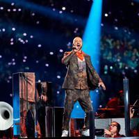 Justin Timberlake Princre emlékezett a Super Bowl félidejében!