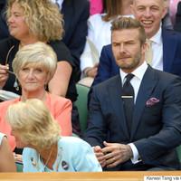 David Beckham csak elkapott egy labdát