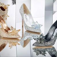 Jimmy Choo Hamupipőke cipői varázslatosak