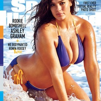 A Sports Illustrated címlapján Plus Size modell is szerepel