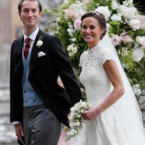 Pippa Middleton gyönyörű esküvője