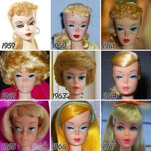 Barbie, Barbie és Barbie... így változott a szőke hölgy az elmúlt 56 évben