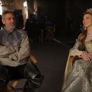 George Clooney a Trónok harca színésznőjével tér vissza!