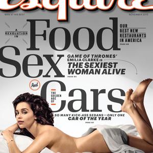 Emilia Clarke űzötten szexi