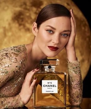 Cotillard a Chanel n5 idei képviselője