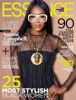 Neki 48! Naomi Campbell retro beütésű editorialban