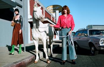 A Gucci a lovakkal van