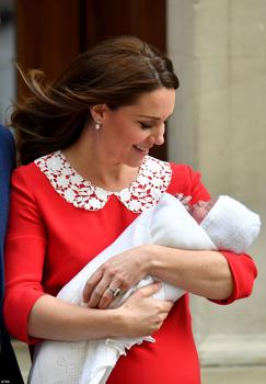 A 3. babát már haza is vitte Kate Middleton!