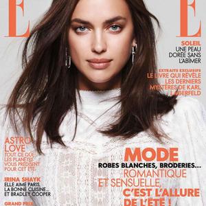 Irina Shayk a francia Elle oldalain... na jó