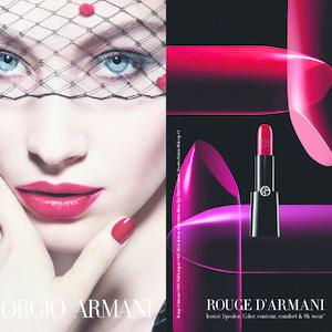 Az Armani couture rúzsok megújultak!