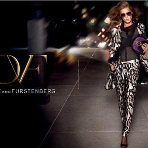 Bohém ragyogás Diane von Furstenberg módra