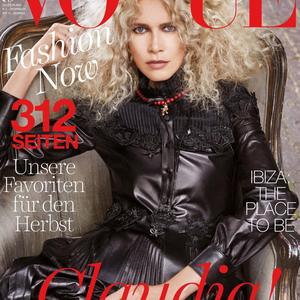 Claudia Schiffer végre másként!