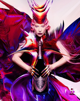 Lady Gaga és a Dom Pérignon esete