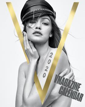 A V magazin topmodellekkel adott ki naptárt