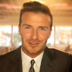 David Beckham a Burger King arc!