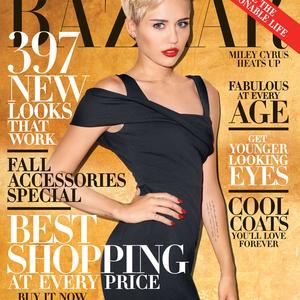 Miley Harpers címlapon