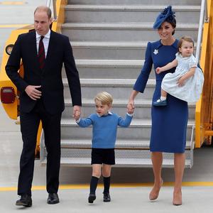 A hercegi család Kanadába látogatott, George pedig megint cuki volt!