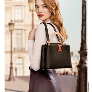 Louis Vuitton táskák Emma Stone vállán