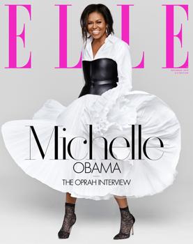 Michelle Obama Elle címlapon