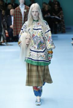 A Gucci szürreálisan globális