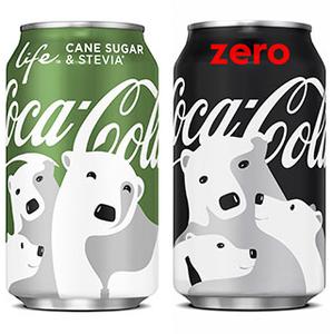 A Coca-Cola karácsonyi medvébe öltözött