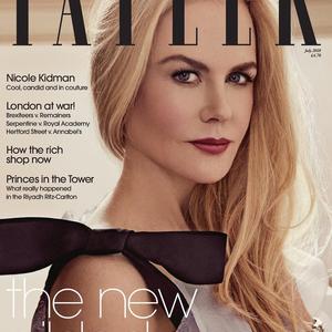 Nicole Kidman a Tatlerben