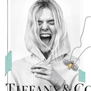 Tiffanyt visel Elle Fanning