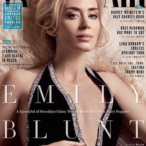 Emily Blunt Vanity Fair anyaga