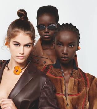 Lagerfeld egyik utolsó munkája: a Fendi kampány