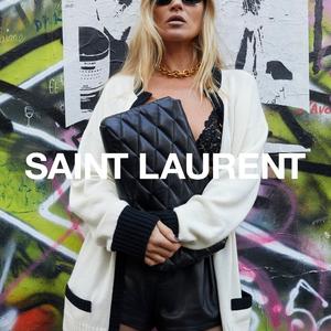 Kate Moss, YSL és némi lazaság