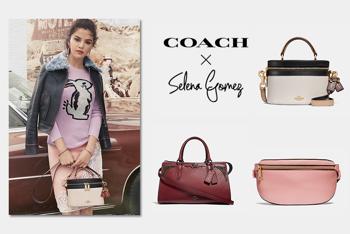 Selena Gomez Coach táskái