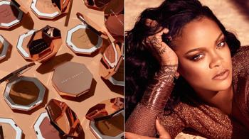 Rihanna bronzosít