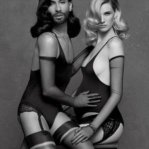 Conchita Lagerfeld új múzsája?!