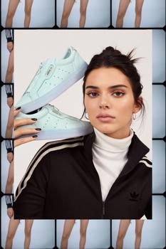 Az Adidas Kendall Jennerben hisz