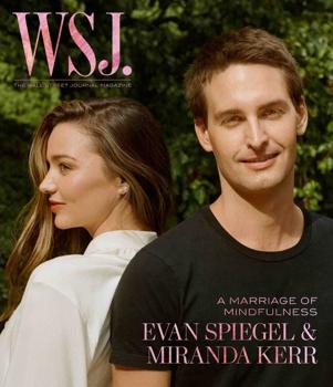 Miranda Kerr és a Snapchat tulaj férje