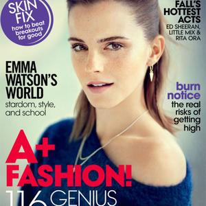 Emma a Teen Vogue borítón