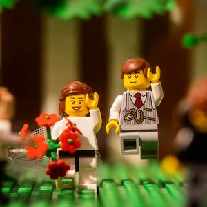 Lego esküvő a karantén idején