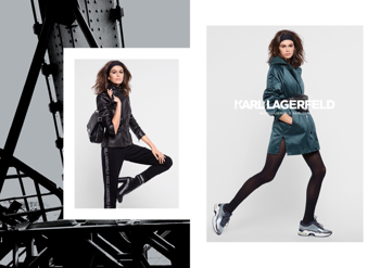 Kaia Gerber megint Karl Lagerfeldben (ami) egyáltalán nem luxus