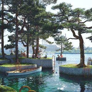 Lebegő szigetek lebegnek majd Koppenhágában