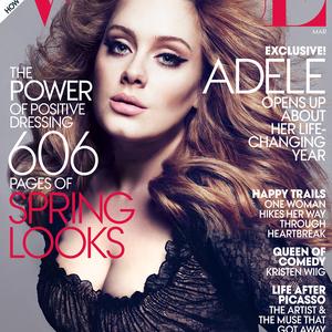 Adele: a nyertes Vogue címlaplány