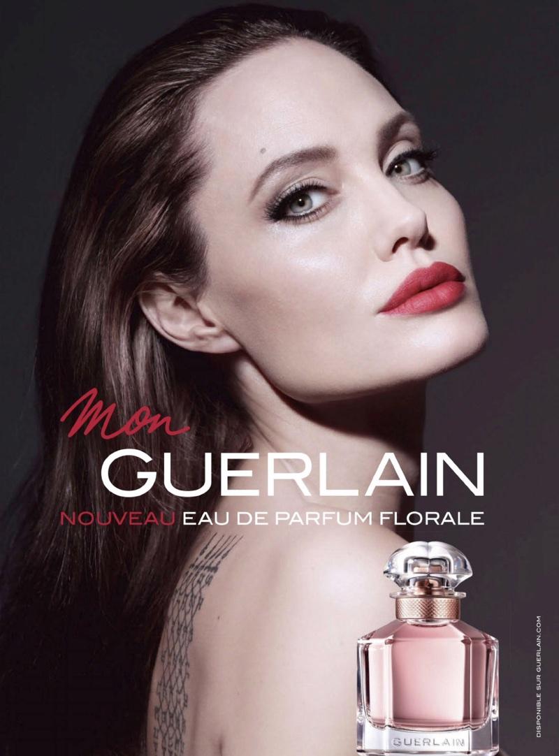 Angelina Jolie Mon Guerlain Perfume, Celebrity Perfume