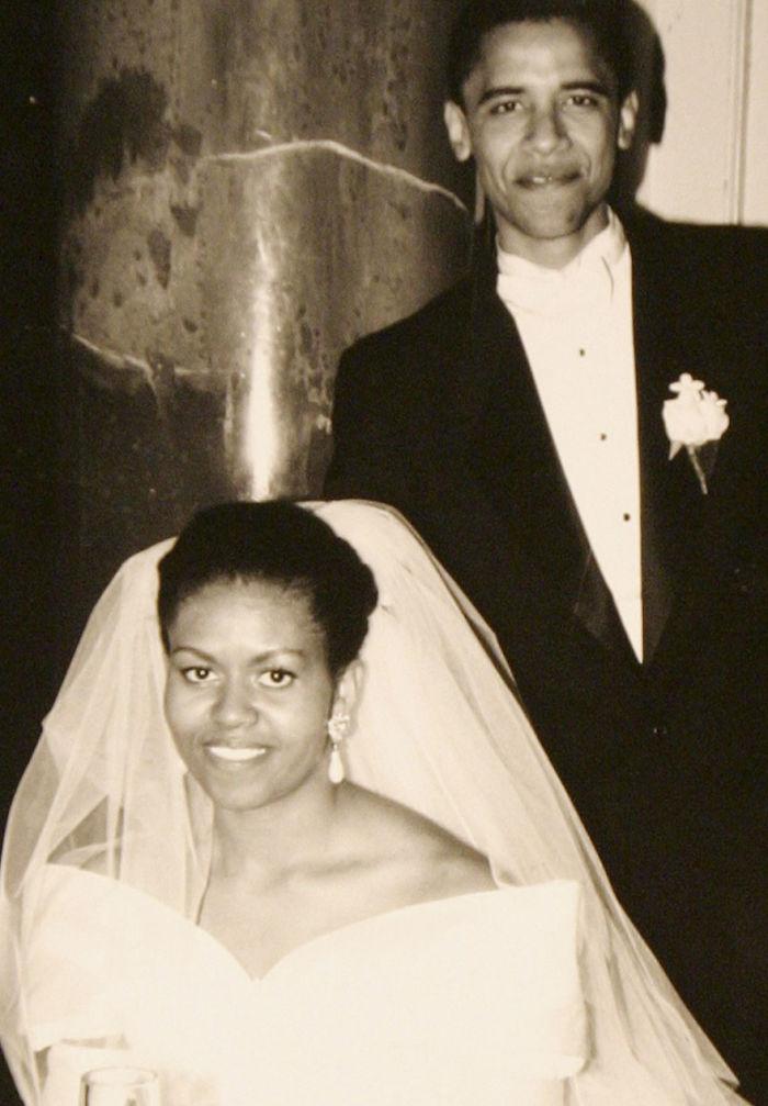 1992, az esküvőjükön