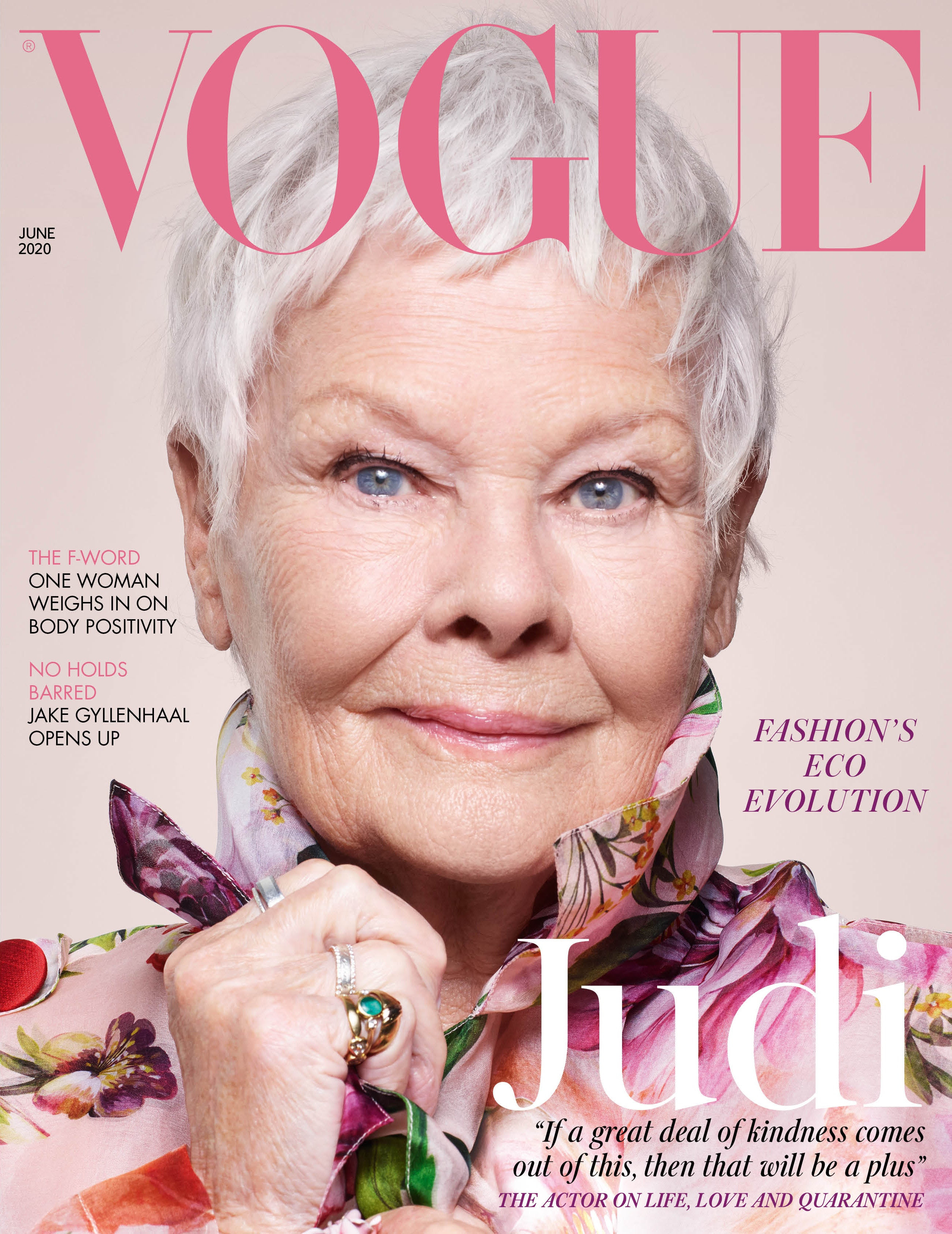 Judi Dench a legidősebb Vogue