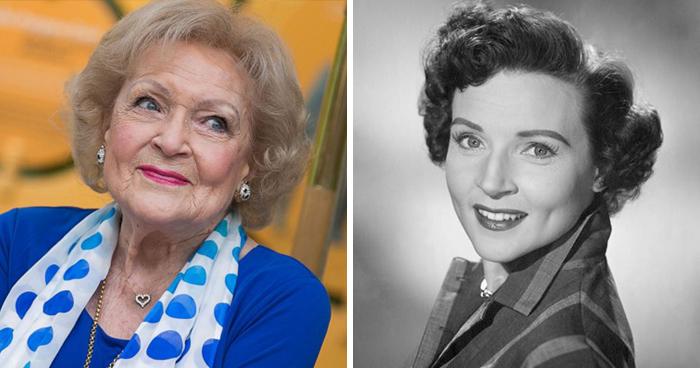 Betty White azért nem a nagy átváltozó kategória