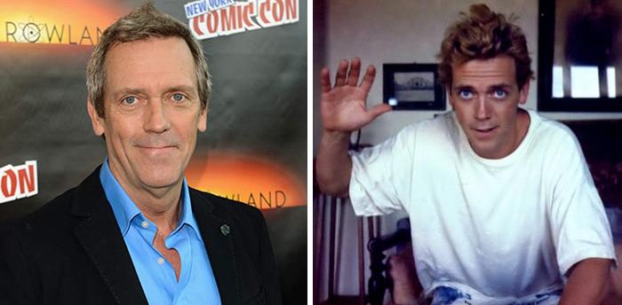 Hugh Laurie szeme döbbenetesen kék volt anno...D