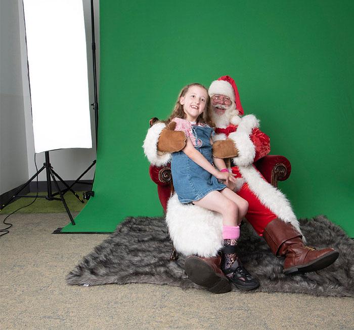 Felemelő karácsonyi képek kórházakból