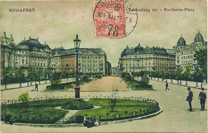 Korabeli hangulat az 1900-as évek elejéről