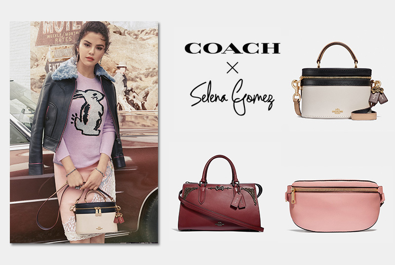 All about Selena Gomez X Coach Collection Is Finally Here ... 059d14e165b34