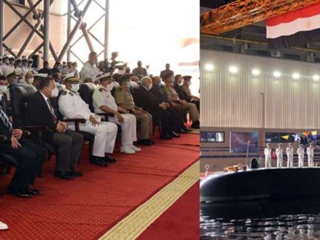 Hazaérkezett a 4. egyiptomi tengeralattjáró is