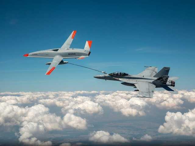 Újra üzemanyagot adott át egy pilóta nélküli repülőgép